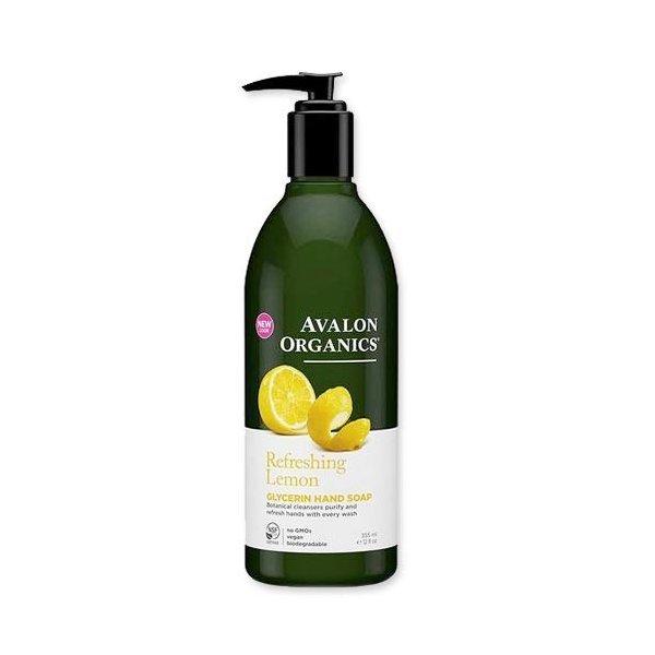 AVALON ORGANICS グリセリンハンドソープ シフレッシング レモン 355ml アバロンオーガニクスの1枚目の写真