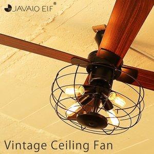 シーリングライト led 6畳 シーリングファン シーリングファンライト LED 照明 天井照明 4灯 ジャヴァロエルフ JE-CF002V 新生活の1枚目の写真
