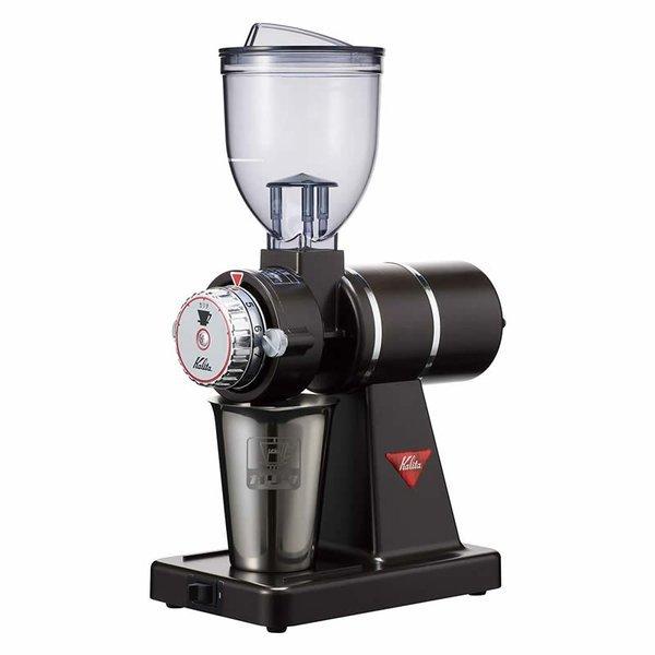 電動コーヒーミル コーヒー用品 豆挽き カリタ 61119 ナイスカットG プレミアムブラウン Kalitaの1枚目の写真