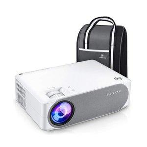 VANKYO V630 1080PフルHDプロジェクター 6000ルーメン LED ±45°デジタル台形補正 1920×1080ネイティブ解像度 4K対応 TV Stick/HDMI/X-Box/Laptop/iPhone/ゲーの1枚目の写真
