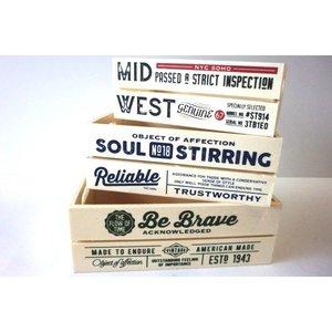 木製BOX アメリカンカントリーの1枚目の写真