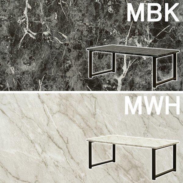 センターテーブル Culcheth MBK/MWH UTK-17 送料込みの1枚目の写真