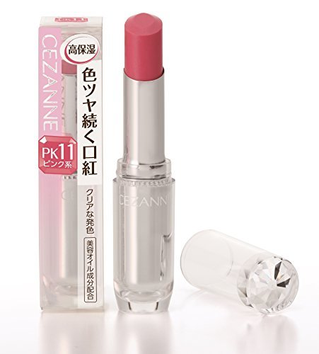 セザンヌ化粧品 セザンヌ ラスティンググロスリップ クリアな発色タイプ PK11 チェリーピンクの1枚目の写真