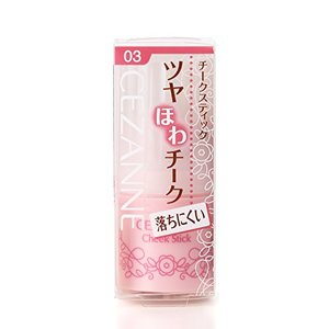 セザンヌ化粧品 チークスティック 03 ローズ 5gの1枚目の写真