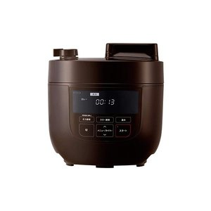 シロカ siroca 電気圧力鍋 4L SP-4D151 ブラウンの1枚目の写真