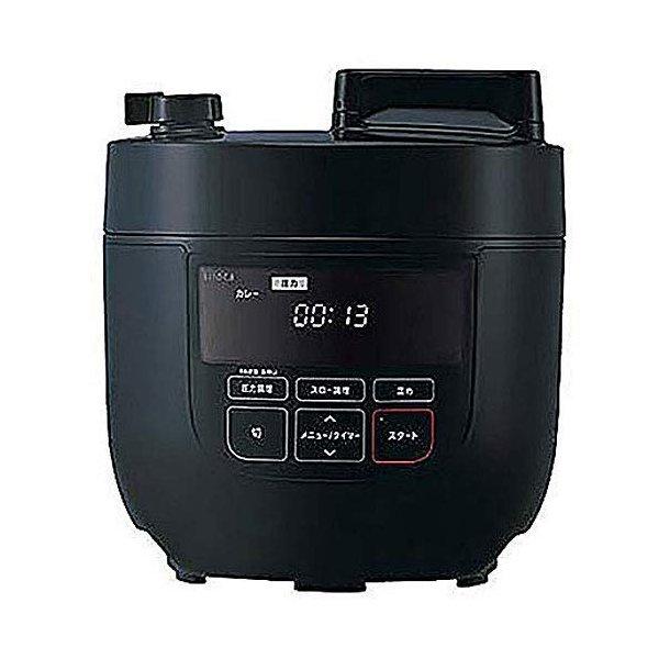 siroca 電気圧力鍋 SP-D131 ホワイト 色 ブラック