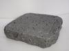 岩肌溝付き溶岩プレート 黒玄武製 YG15153I-Mの1枚目の写真