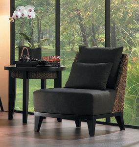 高品質 ウォーターヒヤシンス家具 PERFORMAX正規品ウォーターヒヤシンス ラウンド 円形 サイドテーブル コーヒーテーブル アジアン リゾート ホテル バリ アジアン家具の1枚目の写真