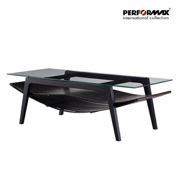 高品質 バンブーファニチャー PERFORMAX正規品バンブー ソファテーブル ローテーブル コーヒーテーブル 天板ガラス アジアン リゾート ホテル バリ アジアン家具の1枚目の写真
