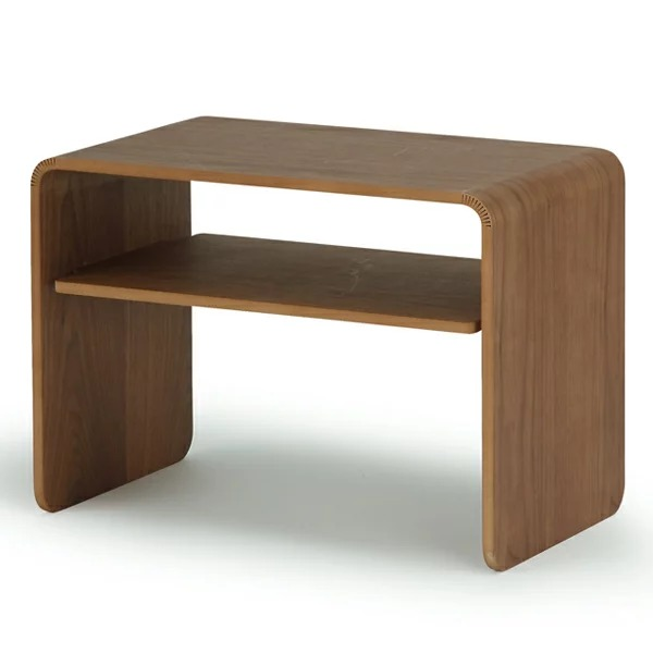 クワミサイドテーブルII ウォルナットの1枚目の写真