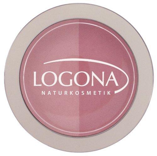 ロゴナ チークカラー<デュオ> 01ローズ&ピンクの1枚目の写真