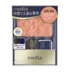 カネボウメディアブライトアップチークN OR-04の1枚目の写真