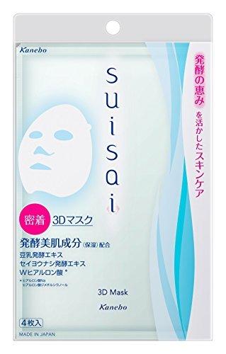 カネボウ suisai 3Dマスク 4枚入の1枚目の写真