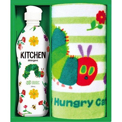 はらぺこあおむし キッチン洗剤タオルセット H-08ASの1枚目の写真