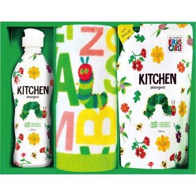 はらぺこあおむし キッチン洗剤タオルセット H-15ASの1枚目の写真