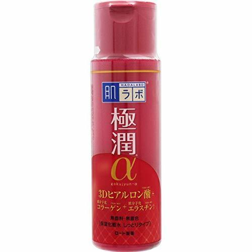 肌ラボ 極潤α ハリ化粧水 しっとりタイプ 170mL 4個セットなら1個あたりの1枚目の写真