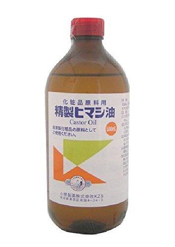 精製ヒマシ油 500mLの1枚目の写真