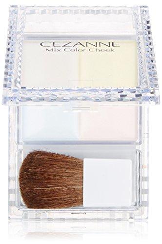 セザンヌ化粧品 セザンヌ ミックスカラーチーク 10 ハイライト  パウダーチークの1枚目の写真