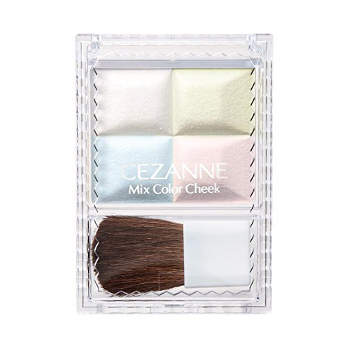 セザンヌ化粧品 セザンヌ ミックスカラーチーク 10 ハイライトの1枚目の写真