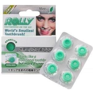 使い捨て携帯歯ブラシ ローリーブラッシュ×5箱の1枚目の写真