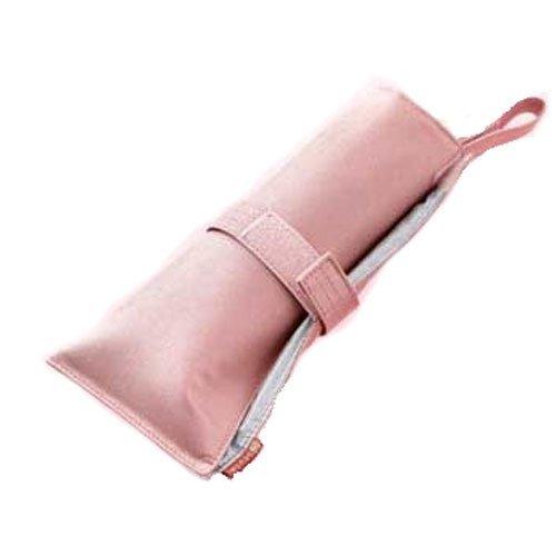 熱くてもサッと収納ヘアアイロンポーチ シャイニーピンクの1枚目の写真