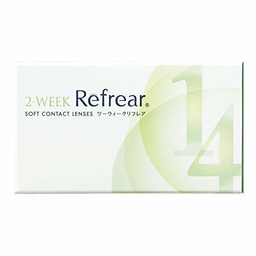 ツーウィークリフレア 2-WEEK Refrear  ソフトコンタクトレンズ クリアコンタクト  1箱6枚入りの1枚目の写真