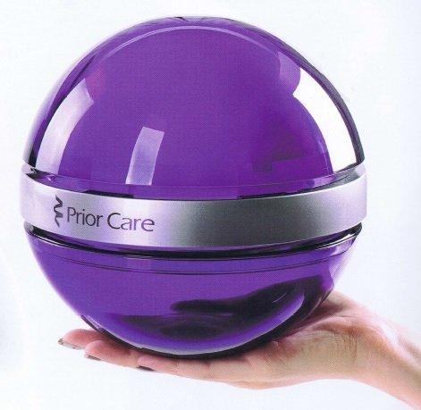 シックハウス・花粉・PM2.5・ウィルス対策   医療用物質生成器 すこやかクリスタルボール アメジストの1枚目の写真