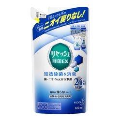 【花王】リセッシュ 除菌EX 香り残らない つめかえ用 320ml ×3個セットの1枚目の写真
