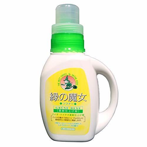 緑の魔女 ソフナー(洗濯用柔軟剤) 本体 800mLの1枚目の写真