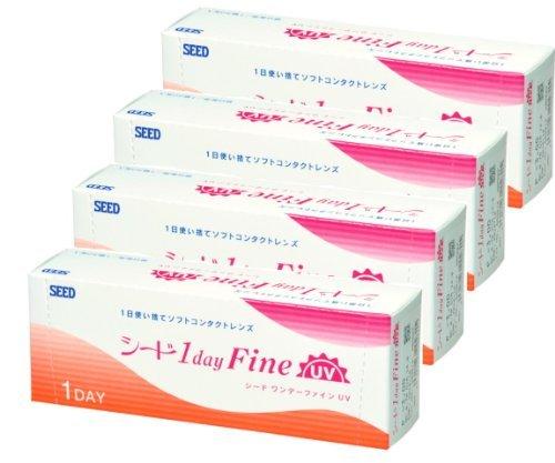 ワンデーファイン UV 8.7-5.75 30枚入 4箱の1枚目の写真