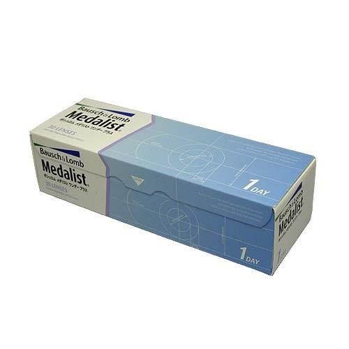 メダリストワンデープラス 1箱 1日使い捨てソフトコンタクトレンズの1枚目の写真