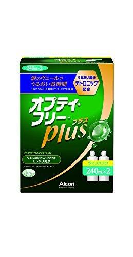 日本アルコン オプティ・フリープラス 洗浄・消毒・保存液(ソフト用) 240mLx2の1枚目の写真