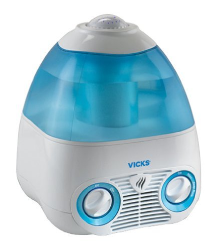 ヴィックス スチーム気化式加湿器 星のプロジェクター付 ヴィックス V3700 の1枚目の写真