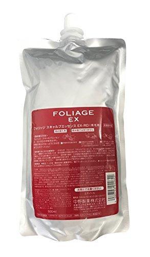 中野製薬 ナカノ フォリッジ スキャルプエッセンス EX-RD 500mlの1枚目の写真