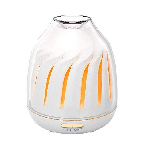 Jueven 120ミリメートル超音波アロマセラピーマシン家庭用寝室の香りランプアロマセラピーFurnacel香炉バーナー加湿器の1枚目の写真