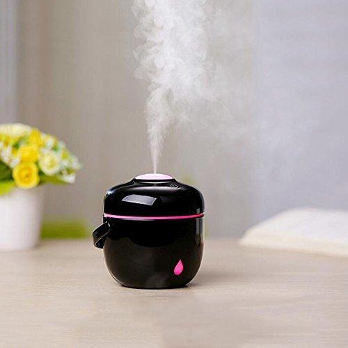 加湿器フィルター 加湿器ポータブル加湿器ナイトライト機能ホームオフィスのための自動シャットダウンスパベイビールーム 空気清浄機の1枚目の写真