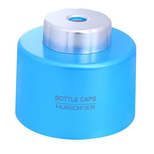 ミニキャップ加湿器オフィス美容USBデスクトップ加湿器7.5 * 7.5 * 6Cm,Blueの1枚目の写真