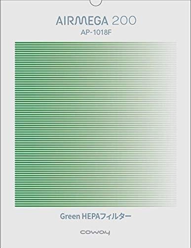 COWAY 空気清浄機 AIRMEGA 200(AP-1018F) 交換用 抗菌GreenHEPAフィルターの1枚目の写真