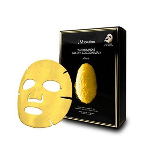 JMソリューション ウォーター ルミナス ゴールデン コクーン マスク 10枚入の1枚目の写真