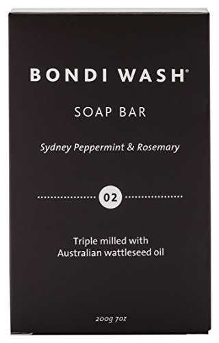 BONDI WASH ソープバー シドニーペパーミント&ローズマリー 200gの1枚目の写真