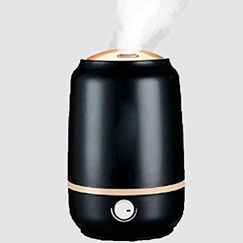 超音波加湿器ホーム静かな大容量加湿器オフィス妊娠中のエアコン付きネブライザ,Blackの1枚目の写真