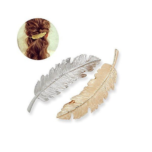 2PCS Geometric Modeling Clip Hair Ornamentsの1枚目の写真