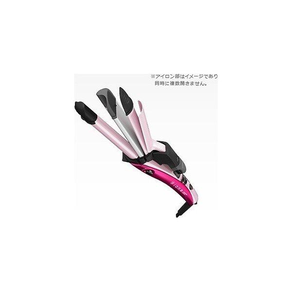 テスコム マイナスイオン3WAYヘアーアイロン IPW1650‐P/ピンクの1枚目の写真