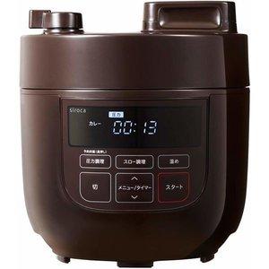 シロカ siroca 電気圧力鍋 SP-D131 ブラウンの1枚目の写真