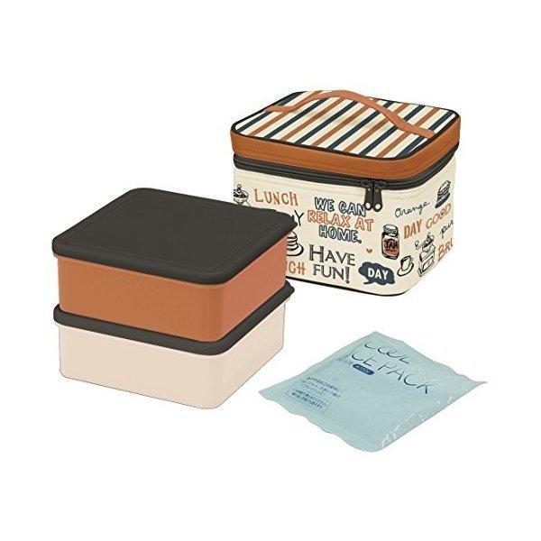 グラフィティ2240ml)スケーター 行楽弁当箱 保冷バッグ付 保冷剤付 2240ml グラフィティ 日本製 KCPC2の1枚目の写真