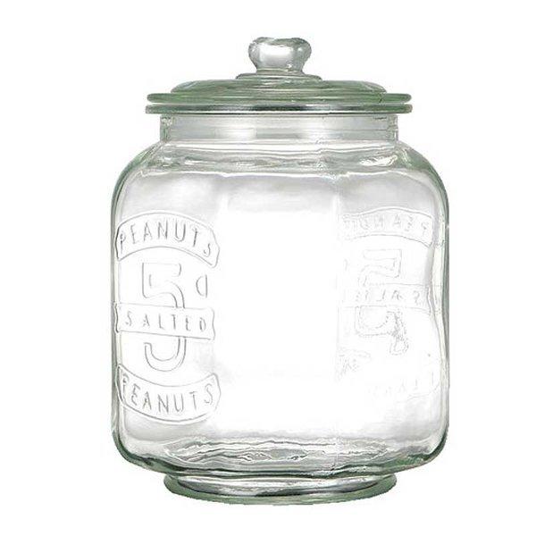 ダルトン ガラスクッキージャー GLASS COOKIE JAR 7L 保存容器 保存瓶 米びつの1枚目の写真