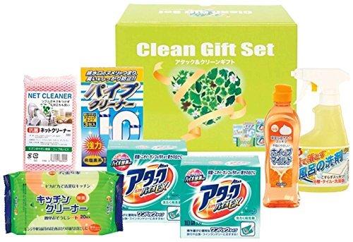 花王 アタック 洗濯 洗剤 &クリーン 贈答 ギフト 7点セット KAG-25 6367の1枚目の写真