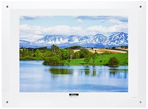 ナカバヤシ アクリル製ピクチャーフレーム「壁掛けタイプ」(B3判プリント用/クリアー) フ‐ACH‐B3の1枚目の写真