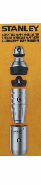 STANLEY スタンレー ハッピーアワーシステム ステンレス製 シェーカー&カップ 7点セット 《》の1枚目の写真