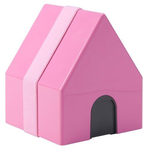 三好製作所 家型ランチボックス BENTO-STORE maison de lunch ピンク BE-003の1枚目の写真